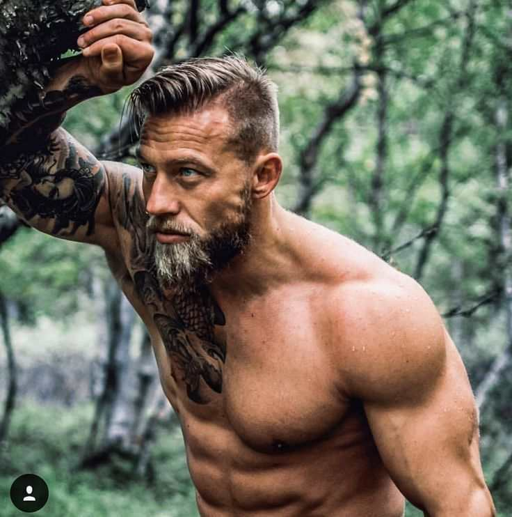 beard bodybuilder photo - 1