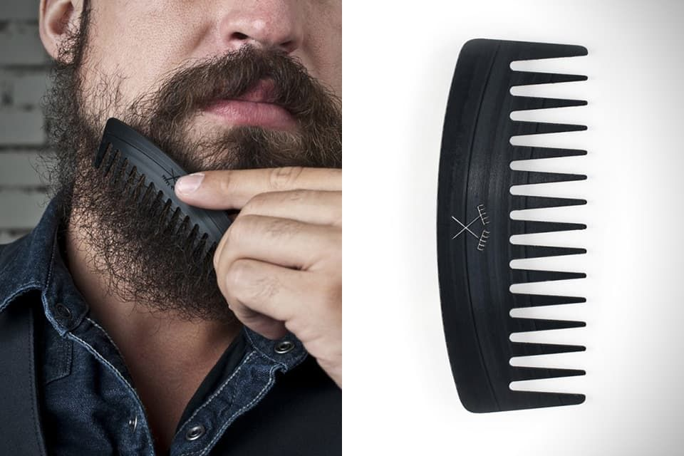 beard brush or comb photo - 1
