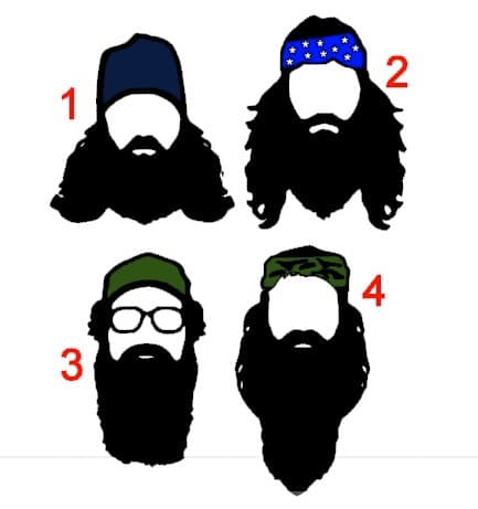 beard decal photo - 1