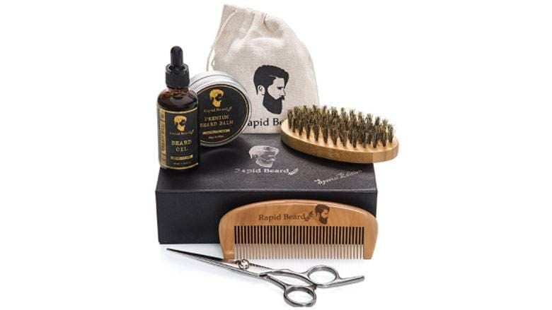 beard grooming kit amazon photo - 1