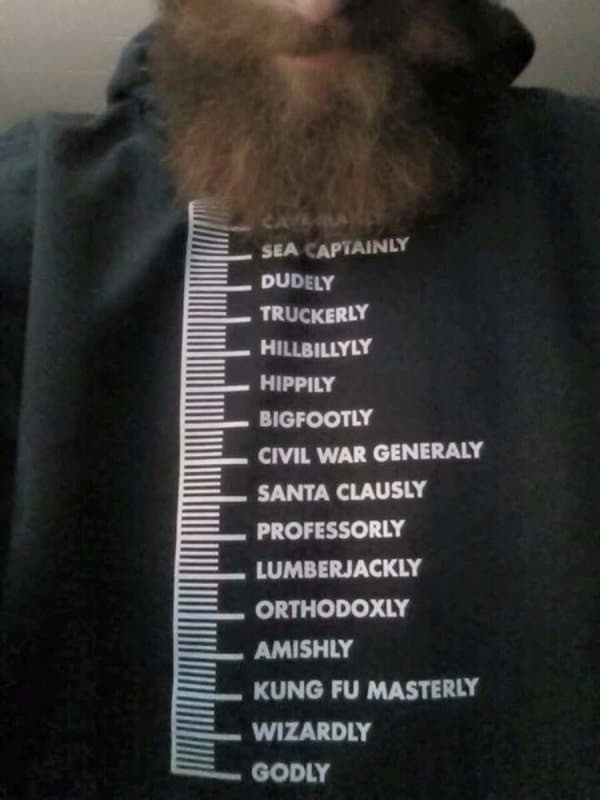 beard guide shirt photo - 1