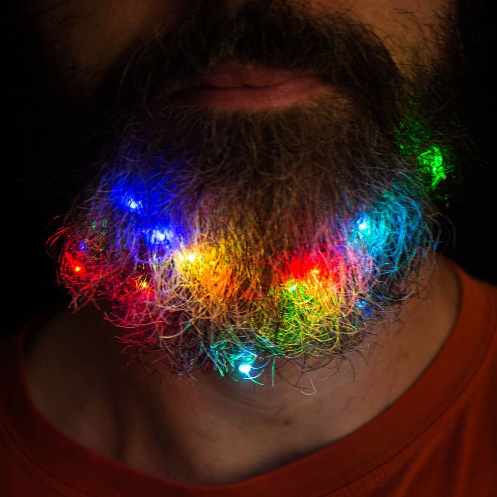 beard lights photo - 1