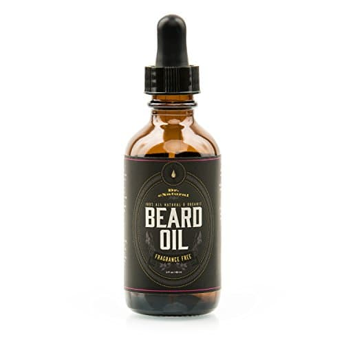 beard oil on mustache photo - 1