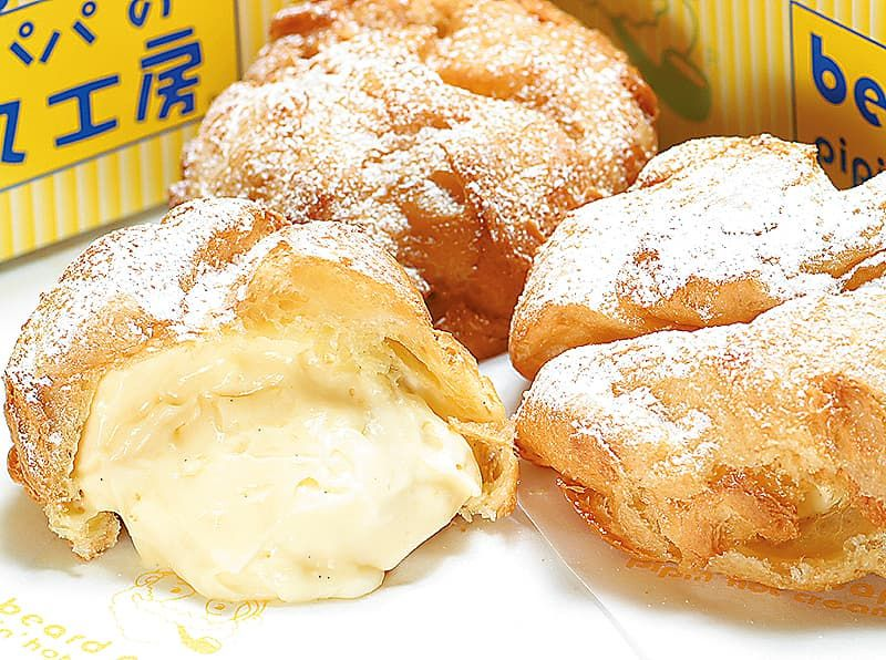 beard papa cream puff photo - 1