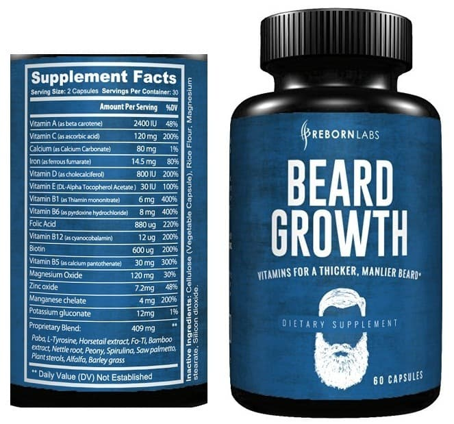 beard pills photo - 1