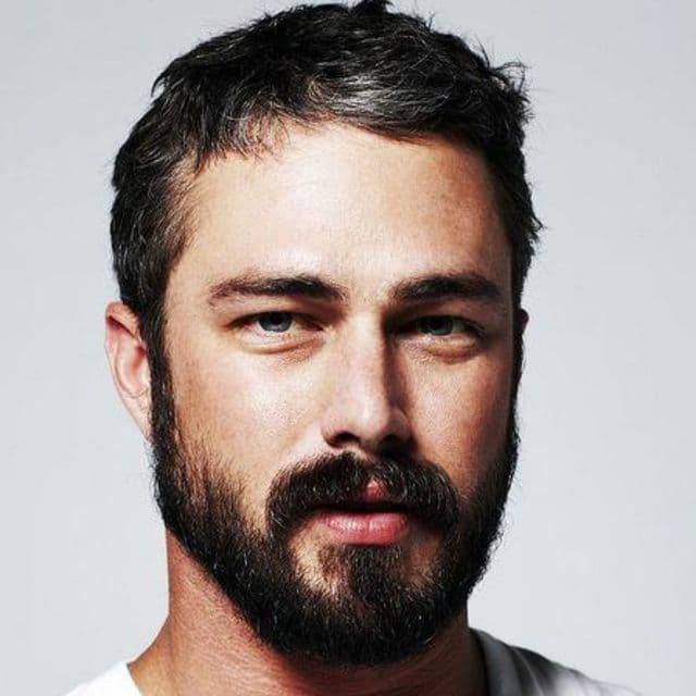 beard shape for round face photo - 1