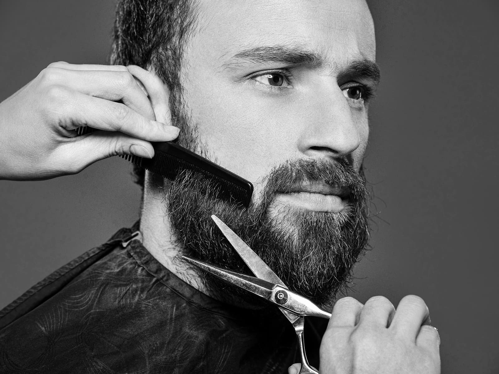 beard shaving photo - 1
