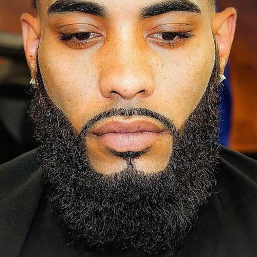 Beard Styles For Black Men Pictures Facial Hairstyles