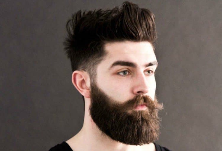 beard undercut photo - 1