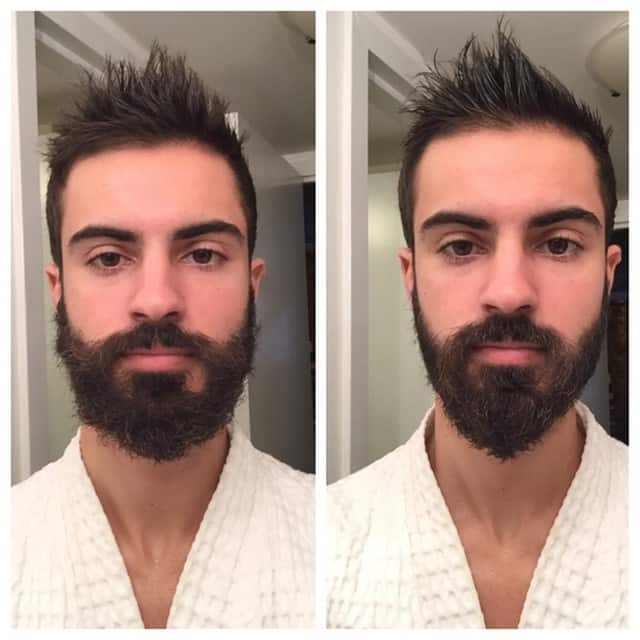 beard wax vs oil photo - 1