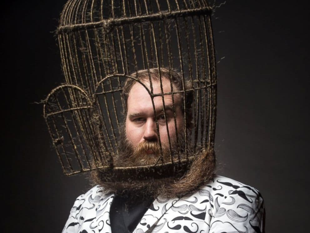 birdcage beard photo - 1