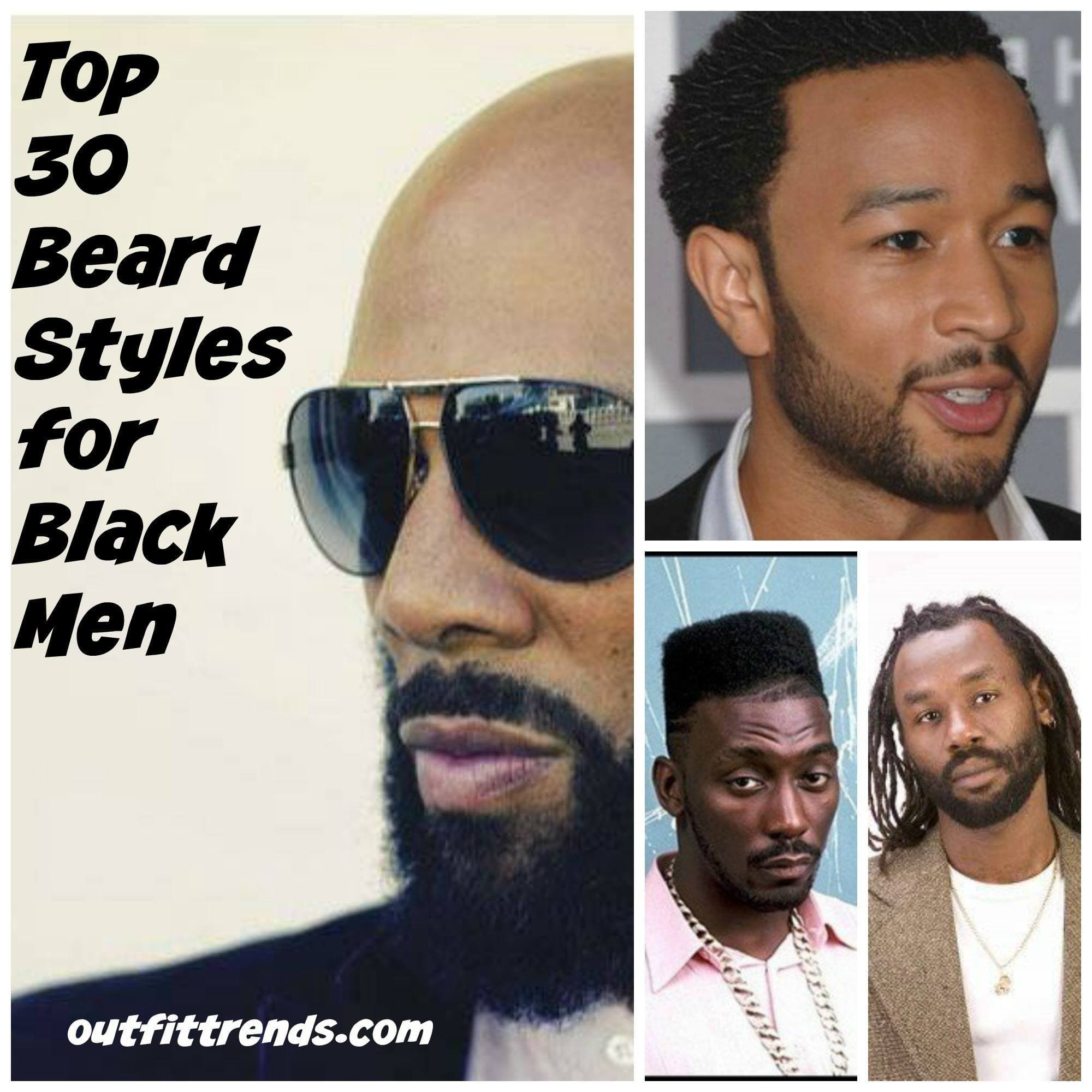 black guy facial hair styles photo - 1