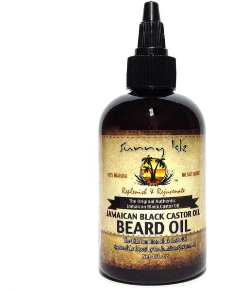 castor oil for beard growth photo - 1