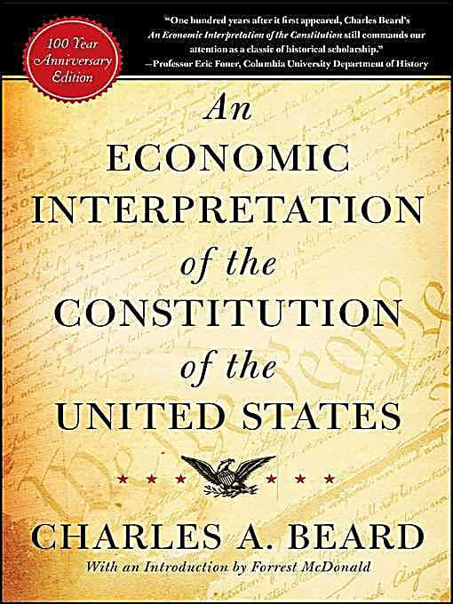 charles beard an economic interpretation of the constitution photo - 1