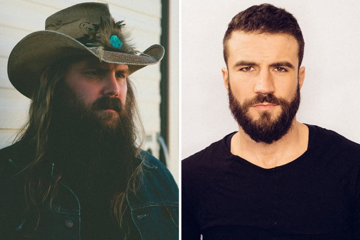 chris stapleton without a beard photo - 1