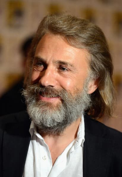 christoph waltz beard photo - 1
