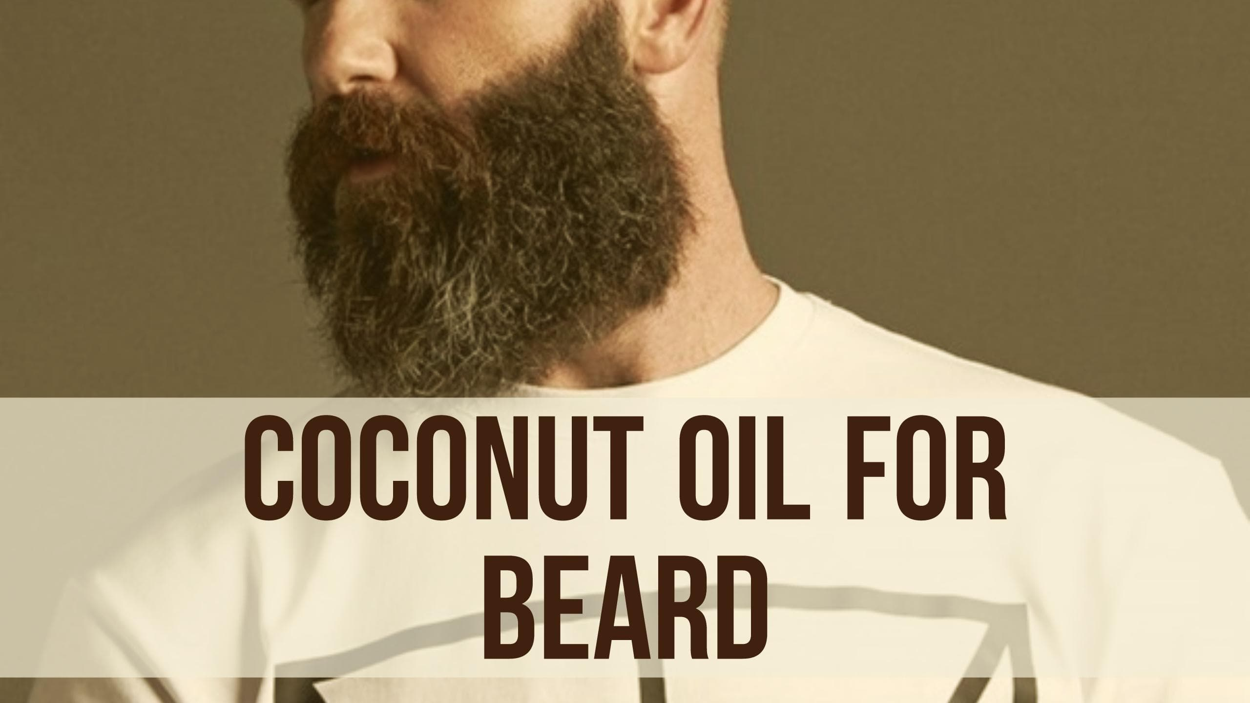 coconut beard oil photo - 1
