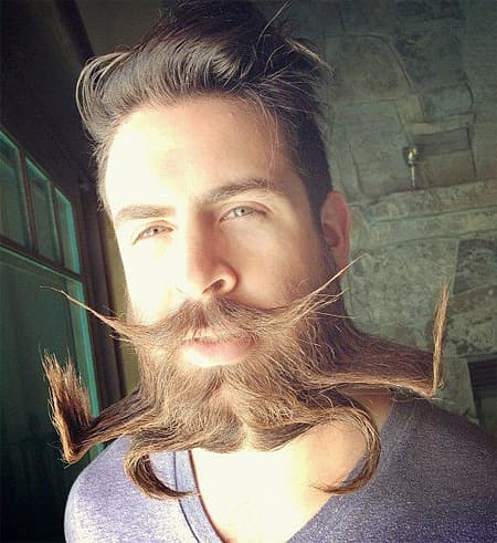 creative facial hair styles photo - 1