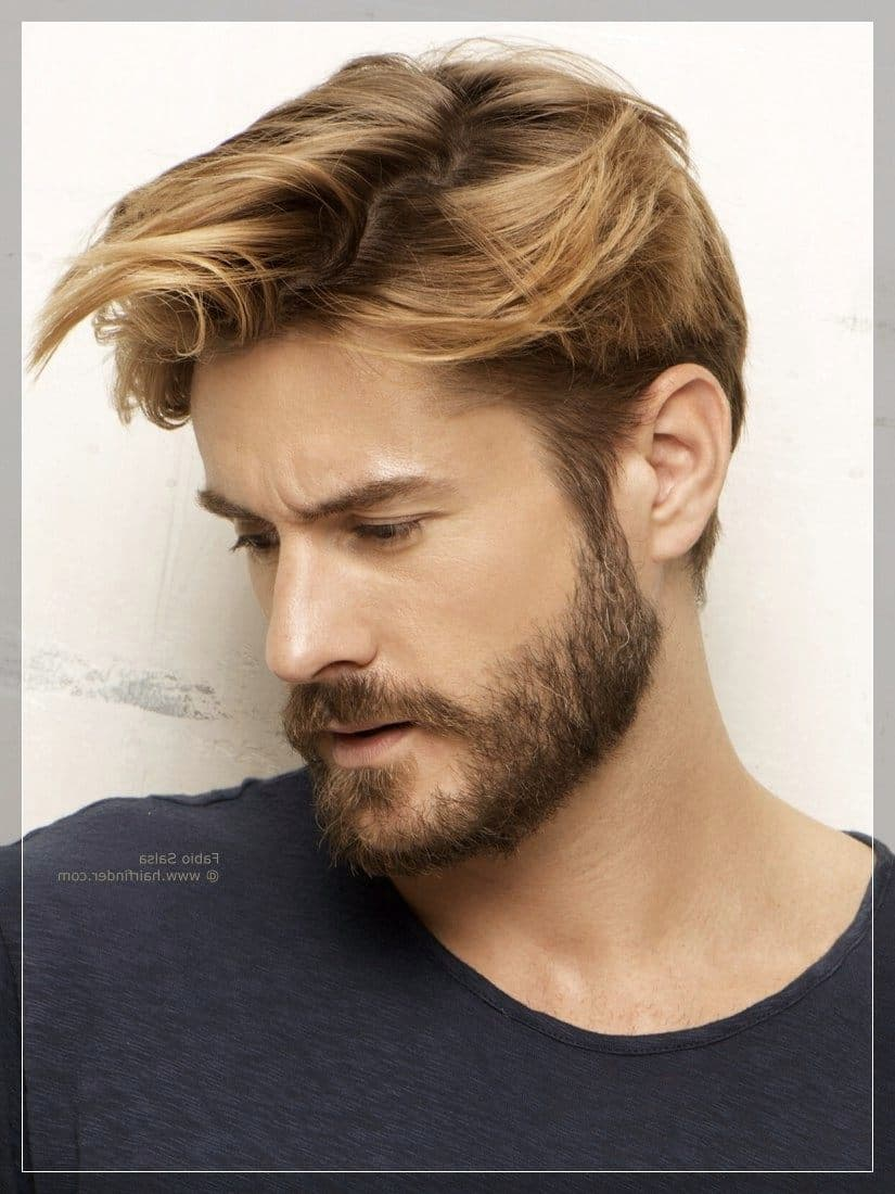 facial hairstyles for men with round faces photo - 1