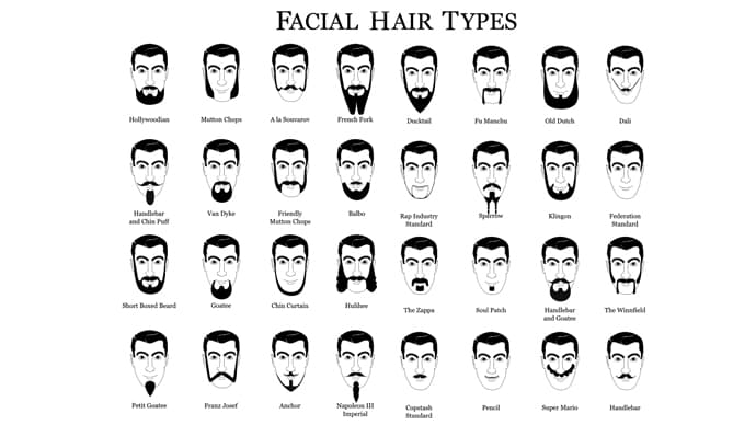 facial hair styles names photo - 1