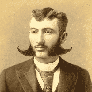 facial hair styles of the 1800s photo - 1