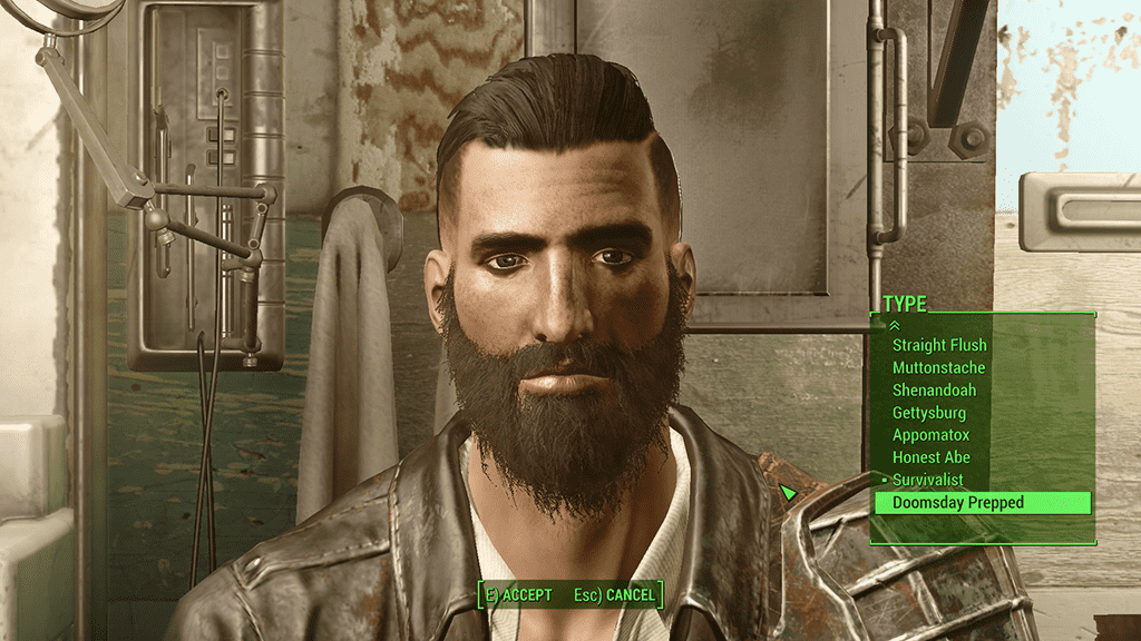 fallout 4 beard mod photo - 1
