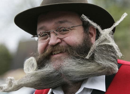 fecal matter beard photo - 1