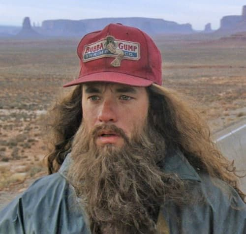 forest gump beard photo - 1