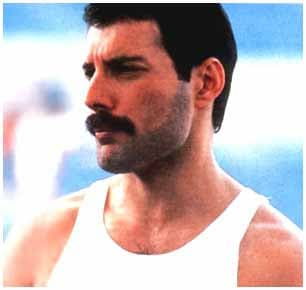freddie mercury beard photo - 1