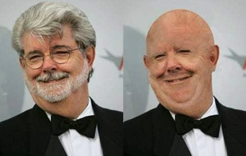 george lucas beard photo - 1