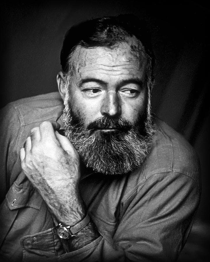hemingway beard photo - 1