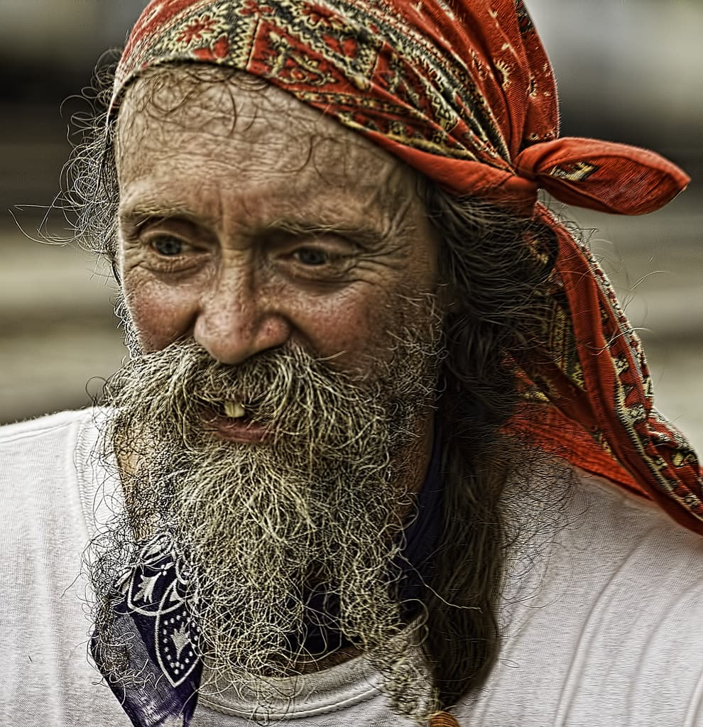 hobo beard photo - 1