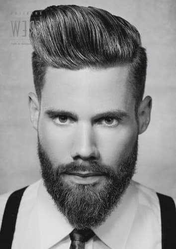 how to color mustache and beard photo - 1