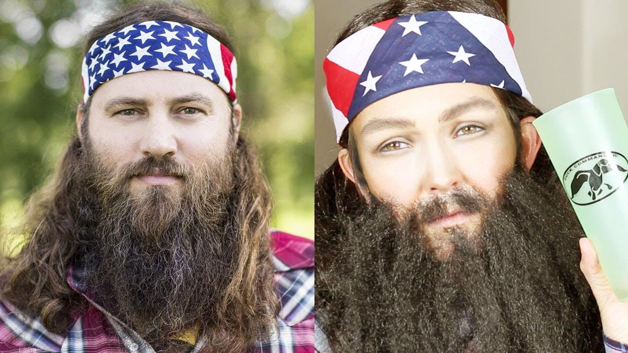 how to make a beard for a costume photo - 1