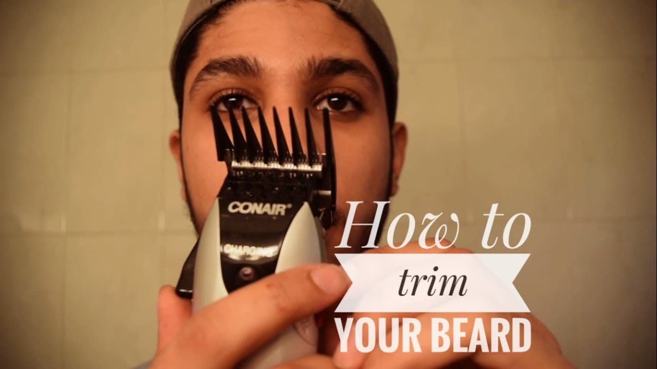 how to trim a long beard with clippers photo - 1