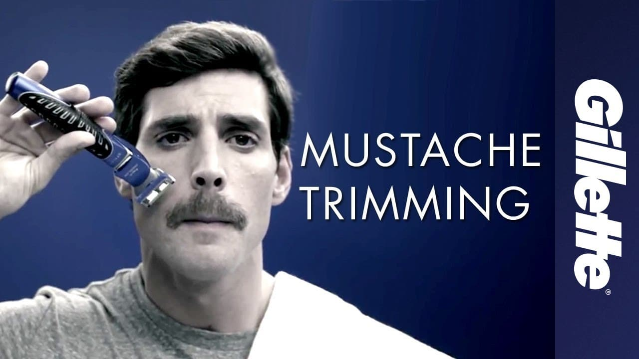 how to trim a mustache and beard photo - 1