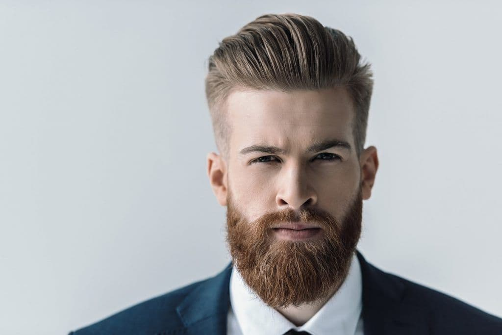 how to trim mustache and beard photo - 1