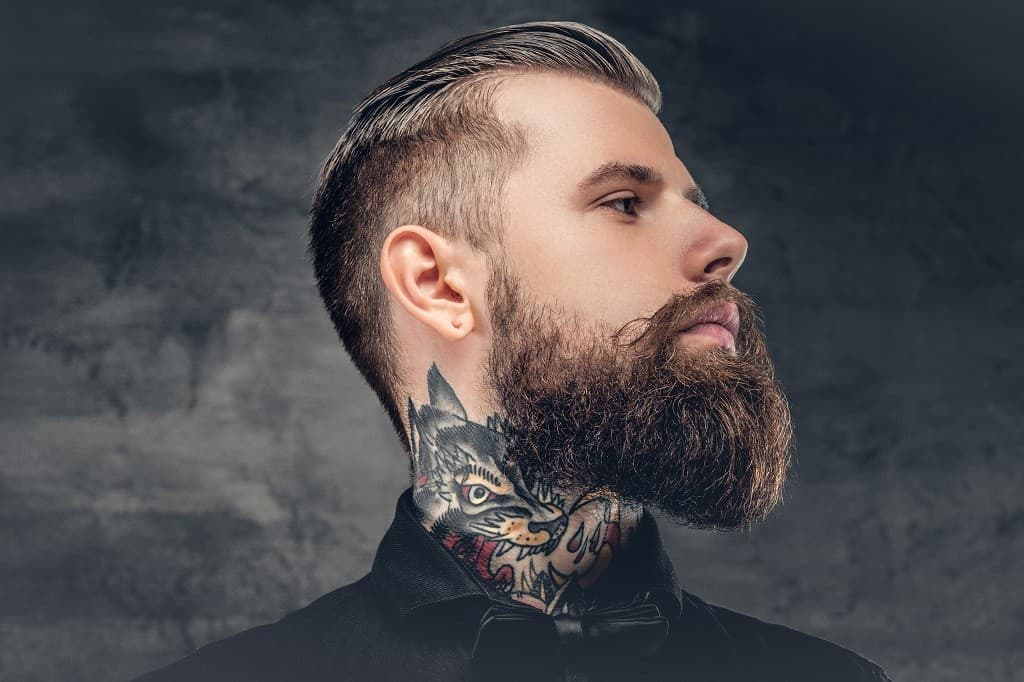 how to trim your mustache while growing a beard photo - 1