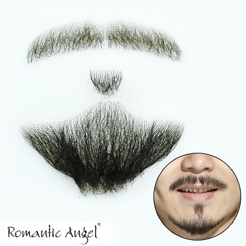 human hair beard and mustache photo - 1
