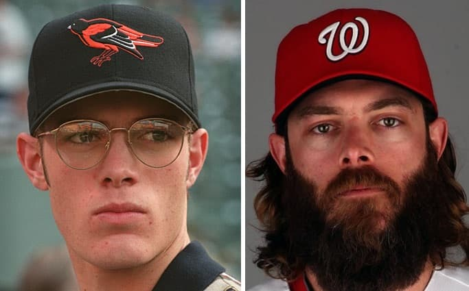 jayson werth beard photo - 1
