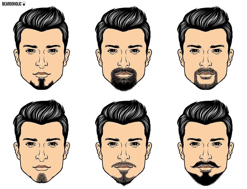 just for men beard and mustache photo - 1