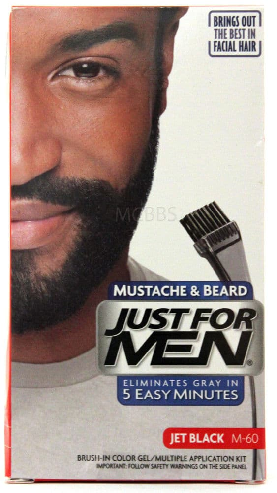 just for men beard colors photo - 1