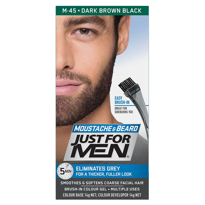 just for men mustache and beard colors photo - 1