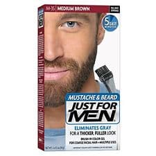 just for men mustache and beard directions photo - 1
