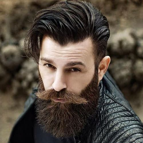 just for men mustache and beard hair color photo - 1