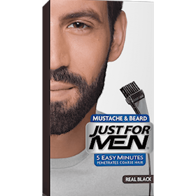just for mens mustache and beard gel photo - 1