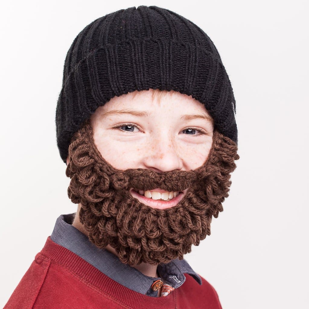 kids beard photo - 1