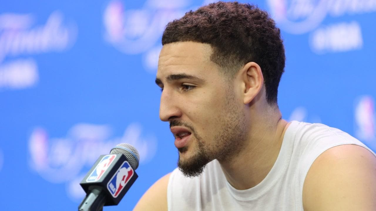 klay thompson beard photo - 1