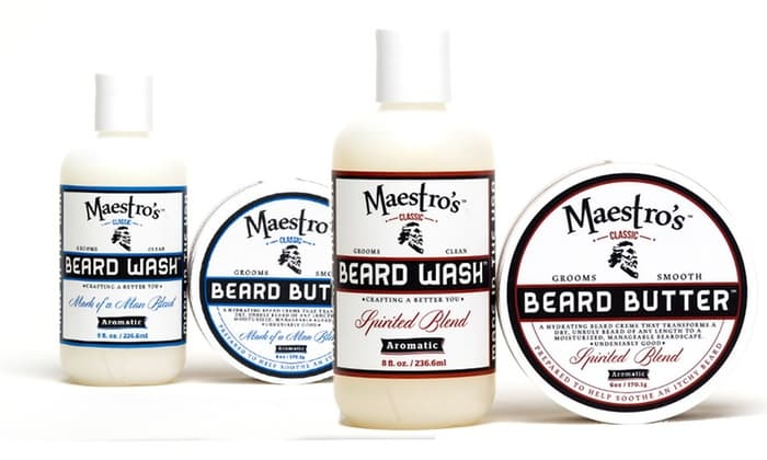 maestros beard wash photo - 1