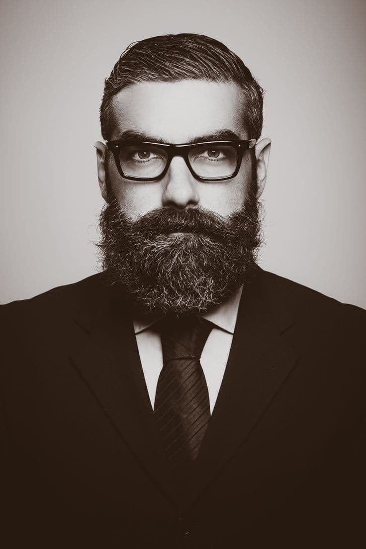 man with a beard photo - 1